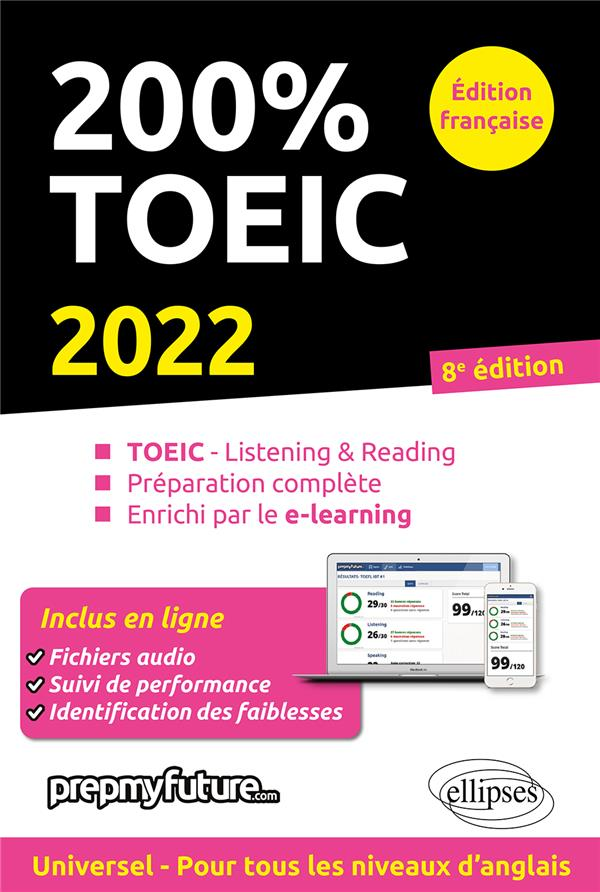 200% TOEIC : listening & reading (édition 2022)
