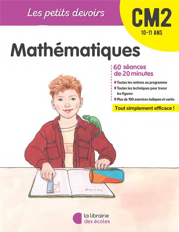 Les petits devoirs ; mathématiques ; CM2 (édition 2020)