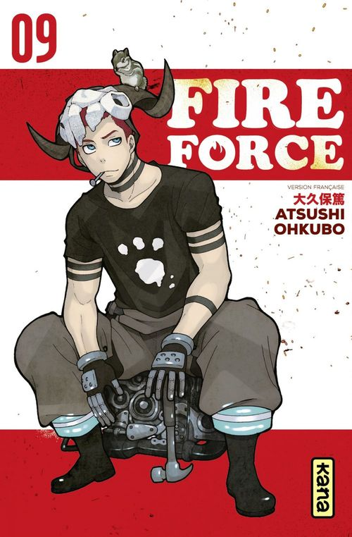 Fire force T.9