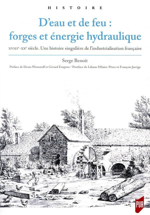 D'eau et de feu : forges et énergie hydraulique