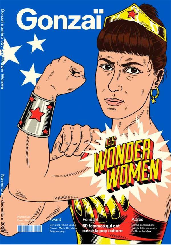 Gonzai n 35 - les wonder women - automne 2020