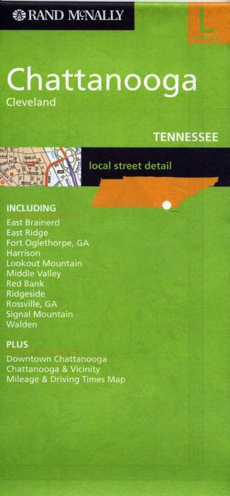 STREETS OF ; Chattanooga ; Cleveland (Tenessee)