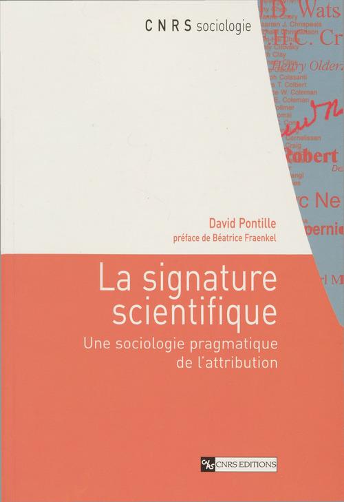 La signature scientifique