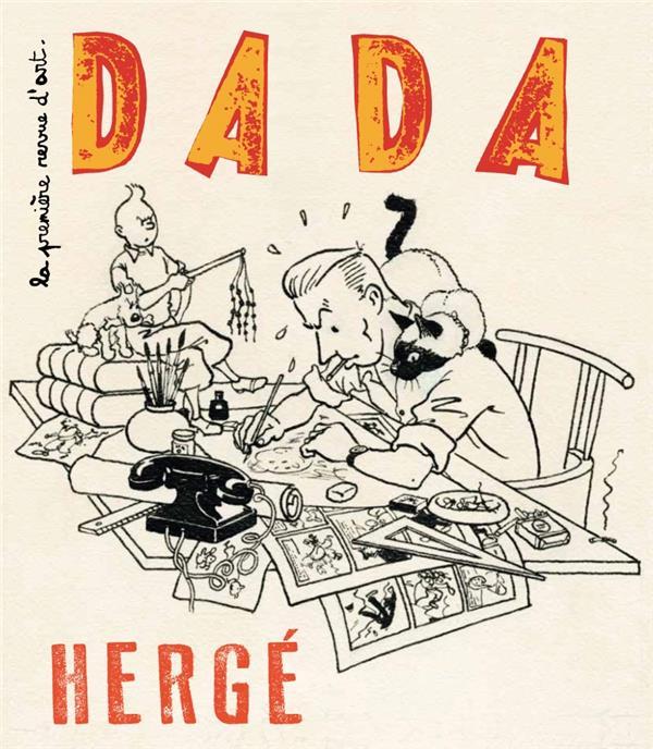Revue dada t.213 ; herge