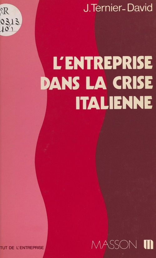 L'entreprise dans la crise italienne : vers de nouvelles relations industrielles ?