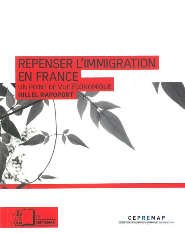 Repenser l'immigration en France