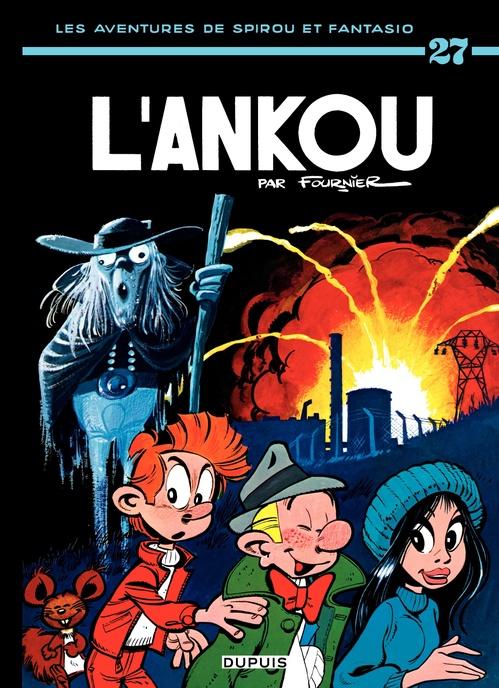 Les aventures de Spirou et Fantasio T.27 ; l'Ankou