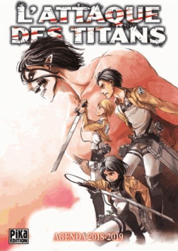 L Attaque Des Titans Agenda Edition 2018 2019 Hajime Isayama
