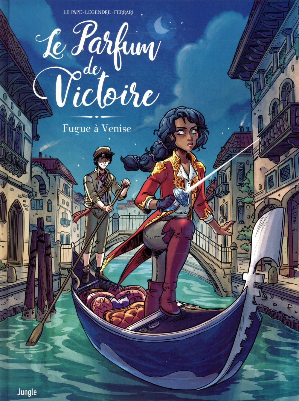 Le parfum de Victoire ; fugue à Venise