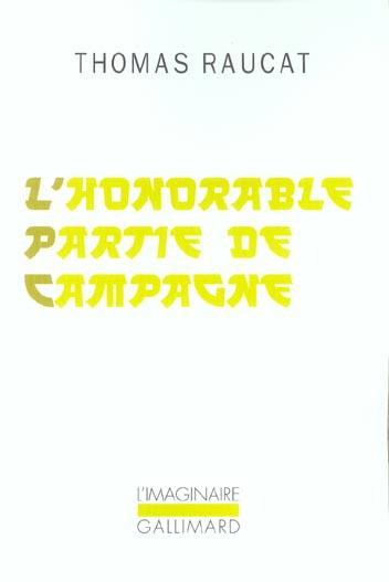 L'honorable partie de campagne
