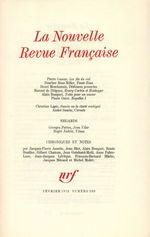 La Nouvelle Revue Française N° 230