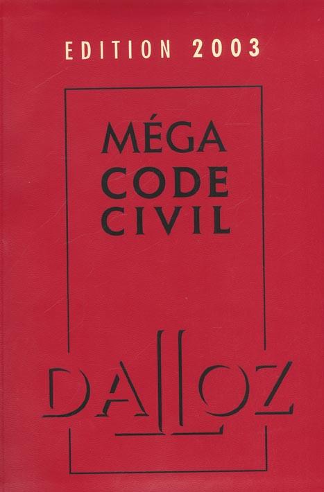 Megacode civil 2003 ; 5e edition