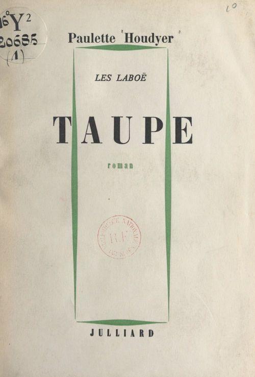 Les Laboë (1)  - Paulette Houdyer