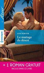 Vente Livre Numérique : Le mariage du désert - Un irrésistible play-boy  - Chantelle Shaw - Jane Porter