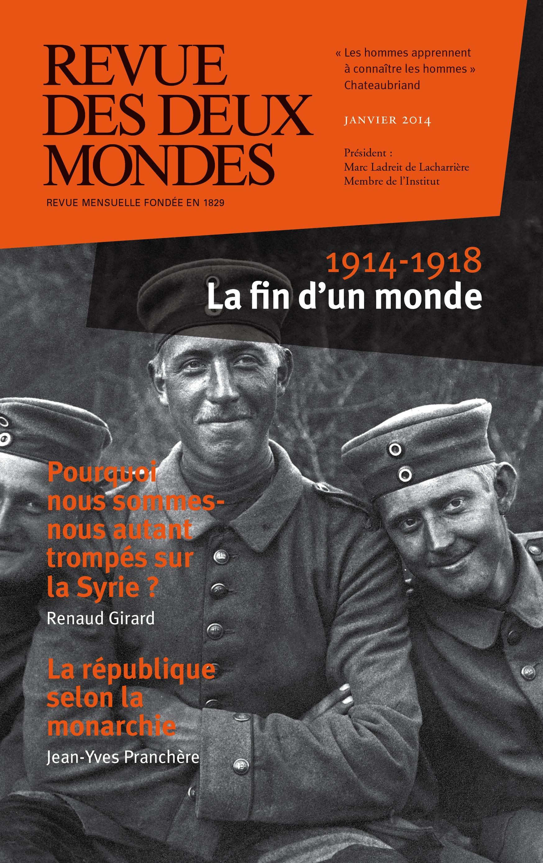 REVUE DES DEUX MONDES ; 1914 et peguy