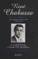 René Chabasse, héros de la Résistance
