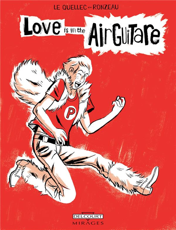 Love is in the airguitare