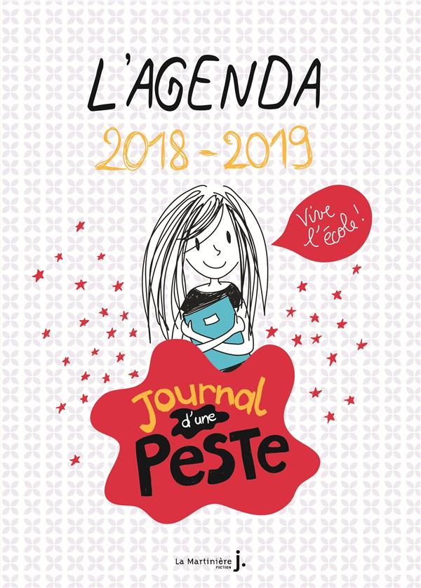 L'agenda 2018-2019 ; journal d'une peste