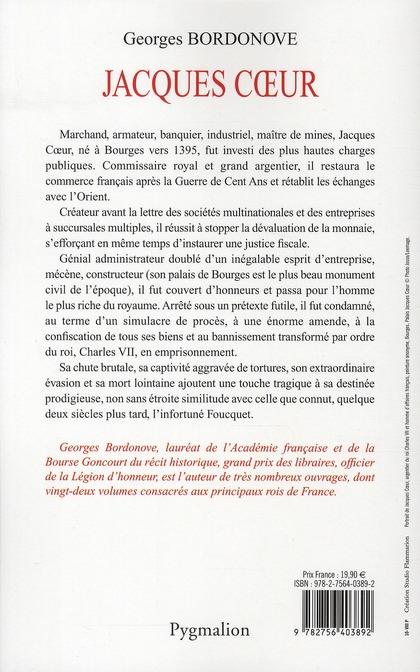 Jacques Coeur ; trésorier de Charles VII (édition 2010)