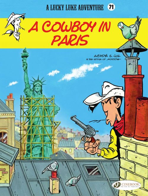 Lucky Luke T.71 ; a cowboy in Paris