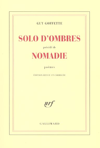 Solo d'ombres/nomadie