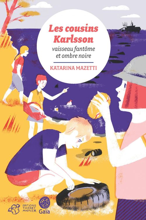 Les cousins Karlsson t.5 ; vaisseau fantome et ombre noire