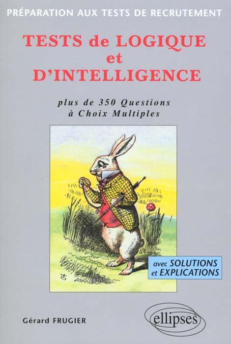 tests de logique et d'intelligence