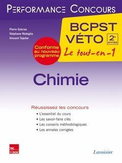 PERFORMANCE CONCOURS ; chimie ; 2e année BCPST-véto