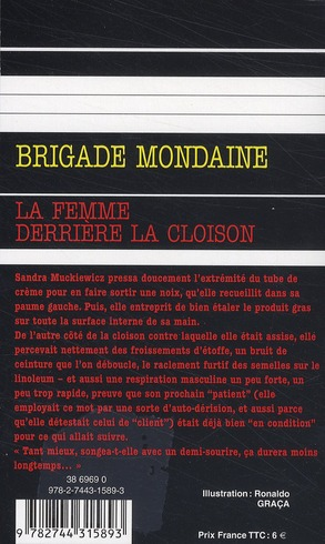 Brigade mondaine t.303 ; la femme derrière la cloison