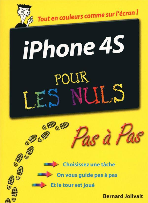 Iphone 4s Pas A Pas Pour Les Nuls