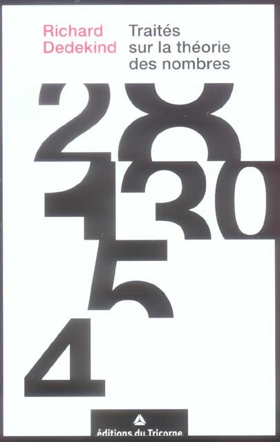 Traites sur la theorie des nombres