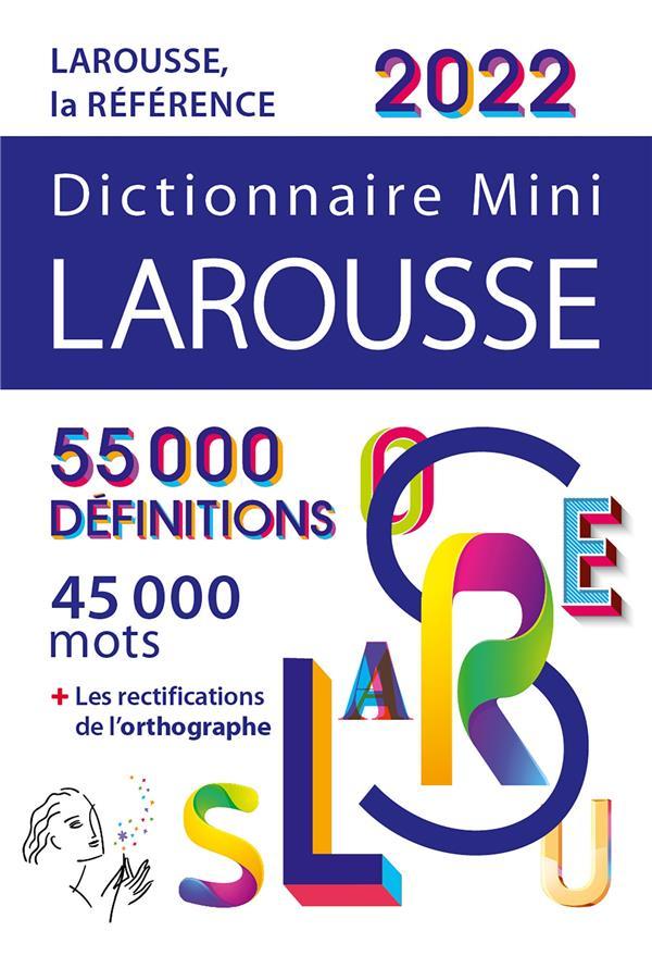 dictionnaire mini Larousse (édition 2022)