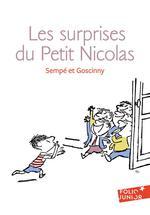 Couverture de Les histoires inédites du petit nicolas t.5 ; les surprises du petit nicolas
