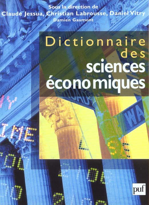 Dictionnaire des sciences économiques