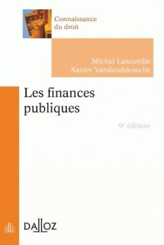 Les finances publiques (9e édition)