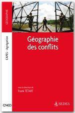 Vente Livre Numérique : Géographie des conflits  - Frank Tétart