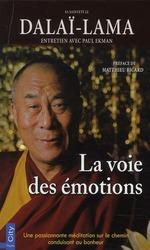 Vente EBooks : La voie des émotions  - Matthieu Ricard - Paul Ekman - Sa Sainteté le Dalaï-Lama