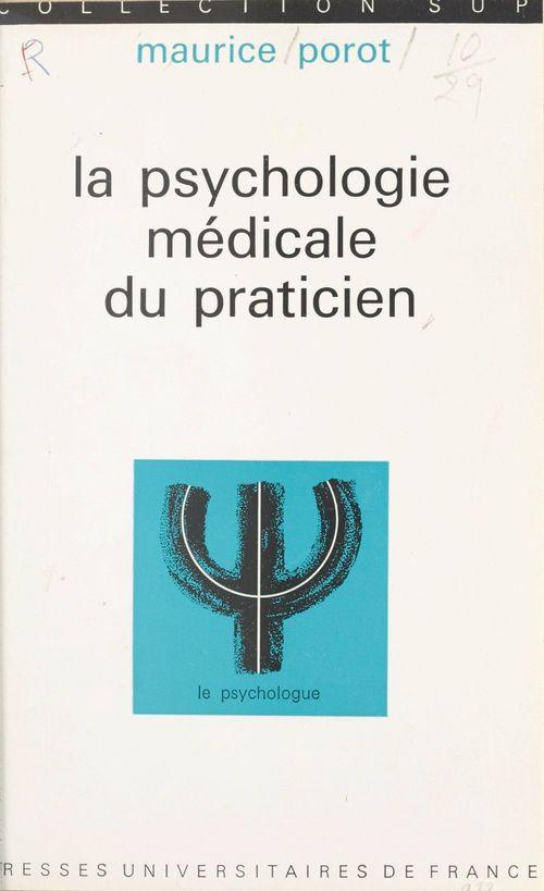 La psychologie médicale du praticien