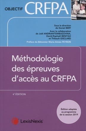Méthodologie des épreuves au CRFPa (4e édition)