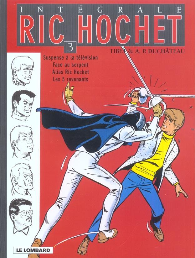 Ric Hochet ; INTEGRALE VOL.3