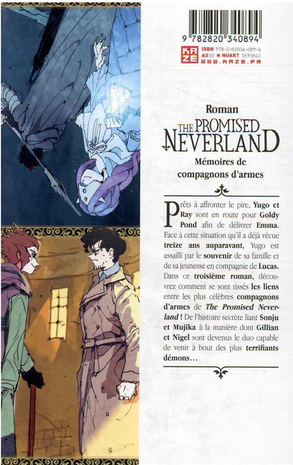 The promised Neverland T.3 ; mémoires de compagnons d'armes