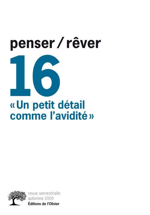 REVUE PENSER REVER T.16 ;