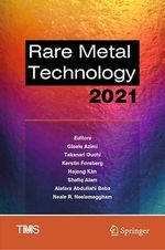 Rare Metal Technology 2021  - . Collectif