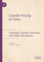 Transfer Pricing in China  - Jian Li - Alan Paisey