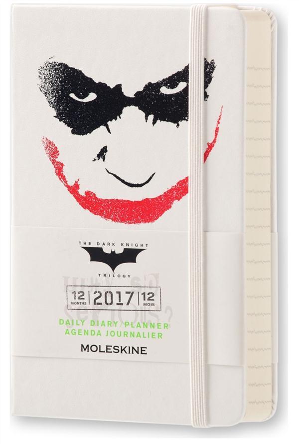 Batman ; agenda journalier 12 mois (édition 2017)