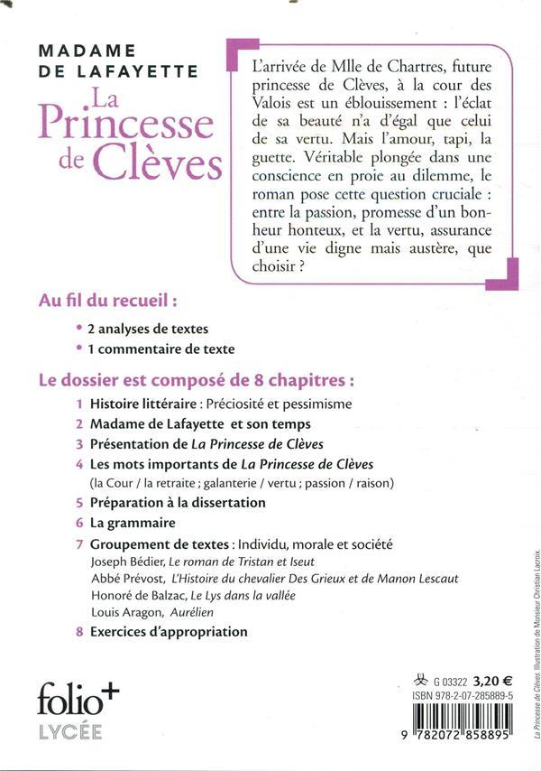 La princesse de Clèves : bac 2021