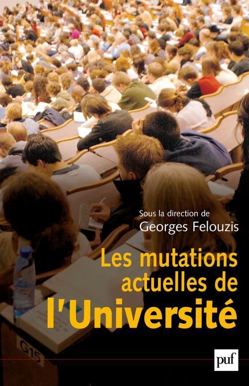 Les mutations actuelles de l'université