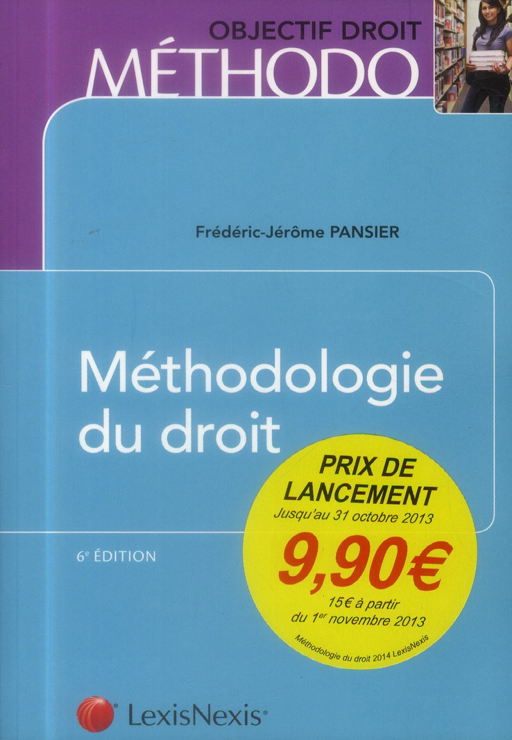 Methodologie Du Droit (6e Edition)