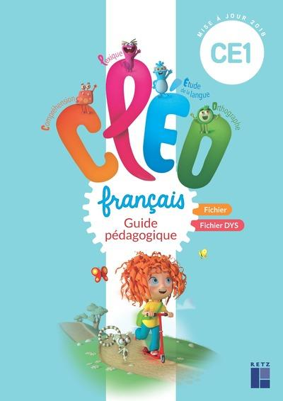 CLEO ; français ; CE1 ; guide pédagogique commun