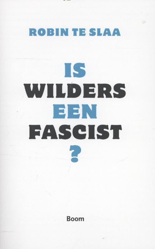 Is Wilders een fascist?